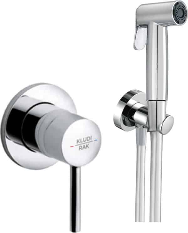 | ABS shattaf with concealed single lever mixer with pre-installation kit | Al Wadi Sanitary Wares Company September 2021