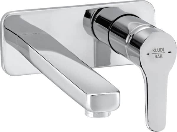   PEAK concealed 2-holes wall-mounted basin mixer trim set   Al Wadi Sanitary Wares Company September 2021