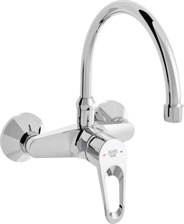 | POLO wall-mounted sink mixer with swivel spout | Al Wadi Sanitary Wares Company September 2021