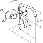   POLO wall-mounted sink mixer with swivel spout   Al Wadi Sanitary Wares Company October 2021