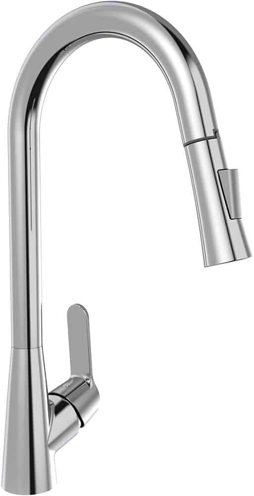 | PEAK Pull Out Sink Mixer with Dual Function Sprayer Head | Al Wadi Sanitary Wares Company September 2021