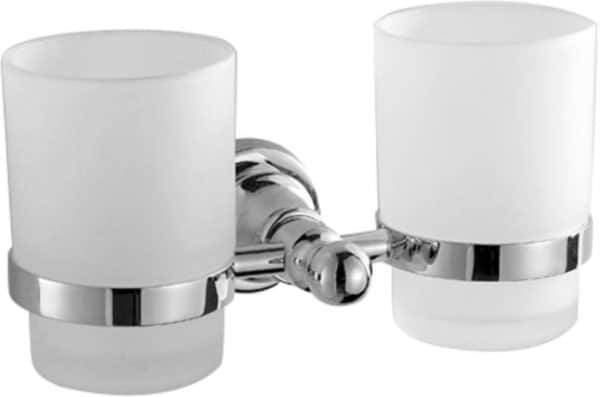  Brass double tumbler holders w/ glass   Al Wadi Sanitary Wares Company September 2021
