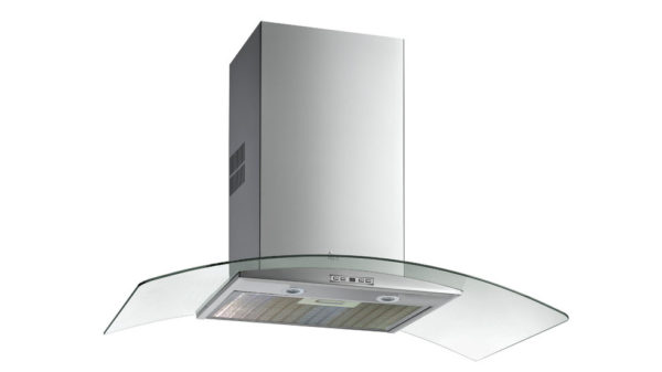   Glass wing wall-mounted extractor hood NC 680   Al Wadi Sanitary Wares Company October 2021