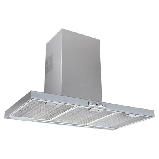   90cm Decorative Hood with Touch Control display and ECOPOWER motor   Al Wadi Sanitary Wares Company September 2021