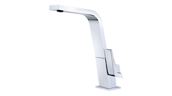   Single Lever Kitchen Tap with flat swivel spout   Al Wadi Sanitary Wares Company October 2021