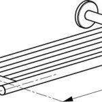| CALIBER towel shelf | Al Wadi Sanitary Wares Company October 2021