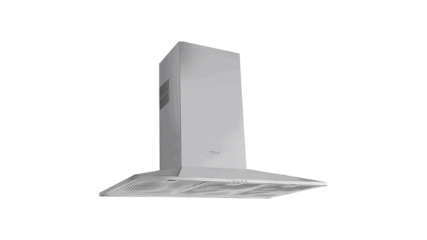 | 90cm Pyramidal Decorative Hood with electronic controls and ECOPOWER motor | Al Wadi Sanitary Wares Company October 2021