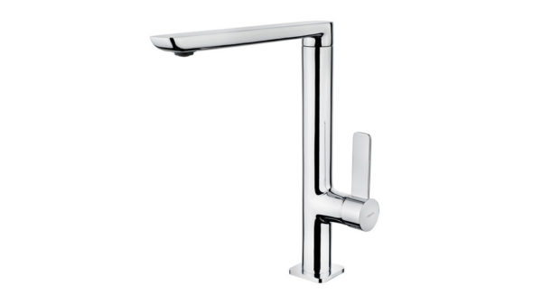 | Minimalistic Single Lever Kitchen Tap with high swivel spout | Al Wadi Sanitary Wares Company October 2021