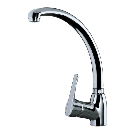 | Single Lever Kitchen Tap with high and swivel spout | Al Wadi Sanitary Wares Company September 2021