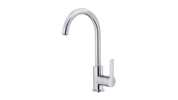   Kitchen tap mixer with high swivel spout   Al Wadi Sanitary Wares Company October 2021