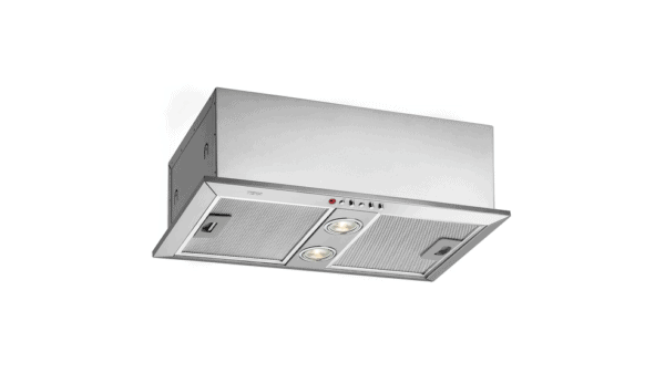   55cm Built-in Hood with push buttons control panel and 2 aluminum filters   Al Wadi Sanitary Wares Company October 2021