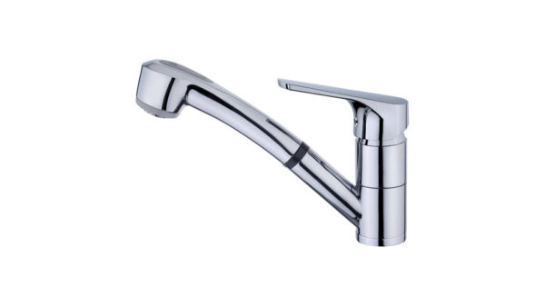   Kitchen tap mixer with pullout shower   Al Wadi Sanitary Wares Company September 2021