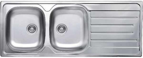 | Inset Sink Double Bowl Single Drainer | Al Wadi Sanitary Wares Company September 2021